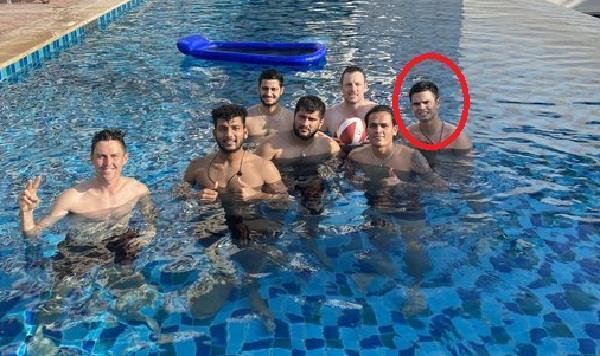 arjun tendulkar seen having fun with mumbai indians players
