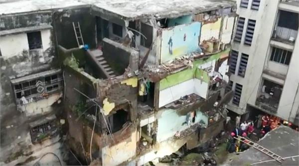 three story building collapsed in bhiwandi near thane