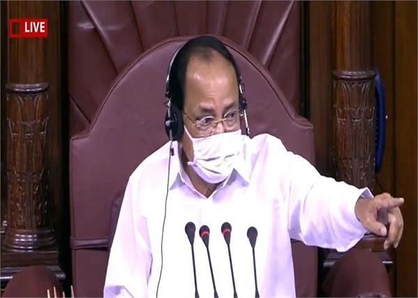 rajya sabha venkaiah naidu 8 mps suspended