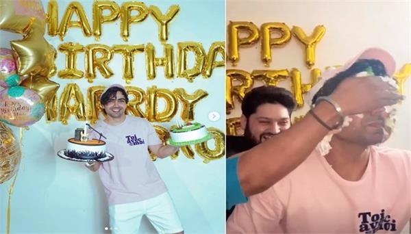 harrdy sandhu   he shares his birthday party pics