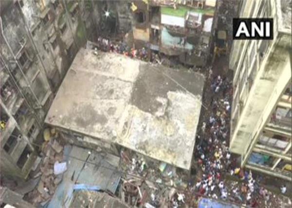 maharashtra building collapse 33 killed bodies hospital