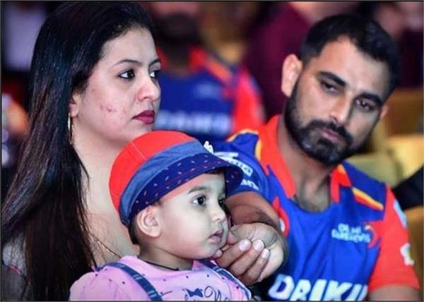 ipl 2020  cricketer mohammed shami  daughter  emotional