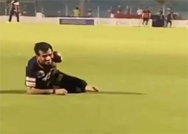 ipl 2020 royal challengers bangalore yuzvendra chahal video devilliers shot