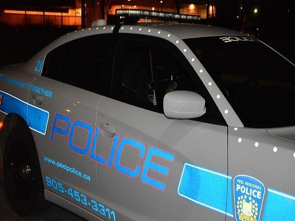 one injured in shooting between two vehicles in brampton