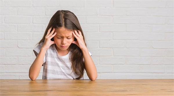 if your child also complains of headaches  don  t ignore them