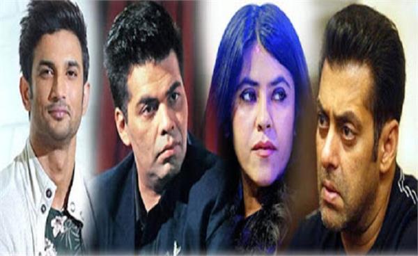 sushant singh rajput case salman khan karan johar and 8
