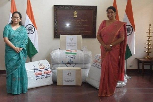 nepal disaster relief materials