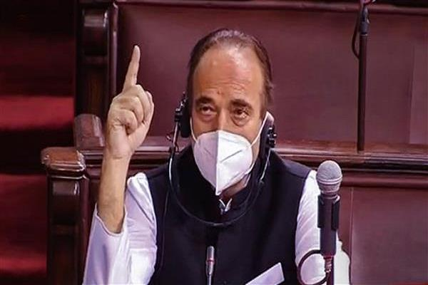gn azad says we  ll boycott parliament session