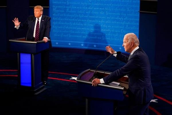 us presidential election donald trump and joe biden