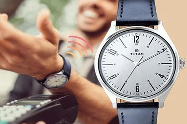 titan launches five new watches with contactless payment functionality