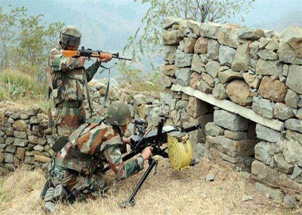jammu and kashmir loc pakistan army firing jawan injured