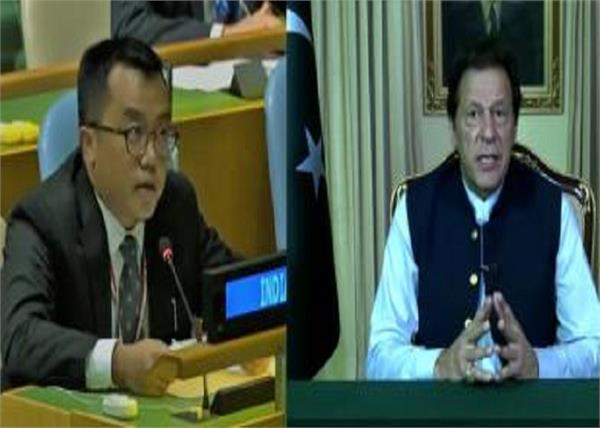 india united nations pakistan terrorism imran khan