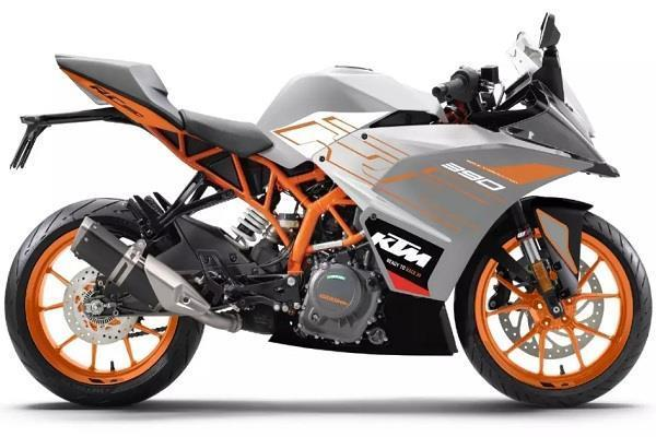 ktm rc range launched in new colours
