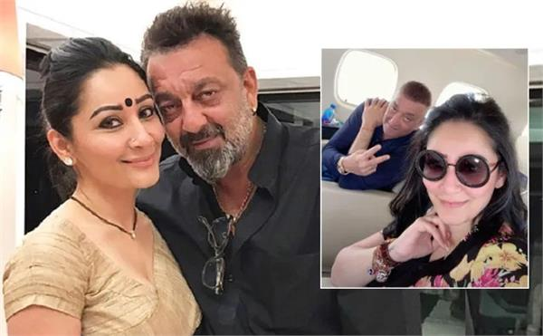 sanjay dutt jets off to dubai