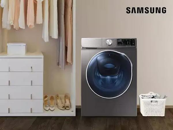 samsung launched ai powered washing machines