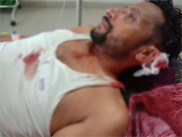 gun firing jalalabad fazilka brothers injured