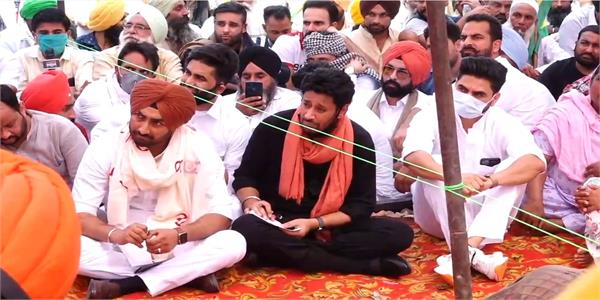 kisan protest   ranjit bawa harbhajan maana and kulwinder billa