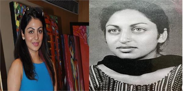 neeru bajwa mother birthday