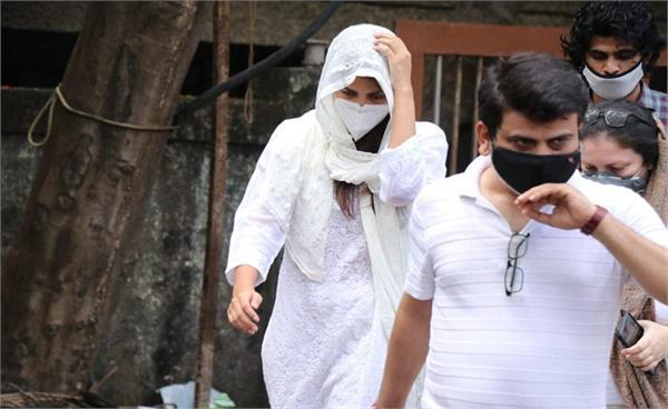 sushant singh case   rhea chakraborty