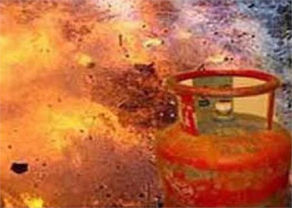 up  cylinder explosion one year baby died