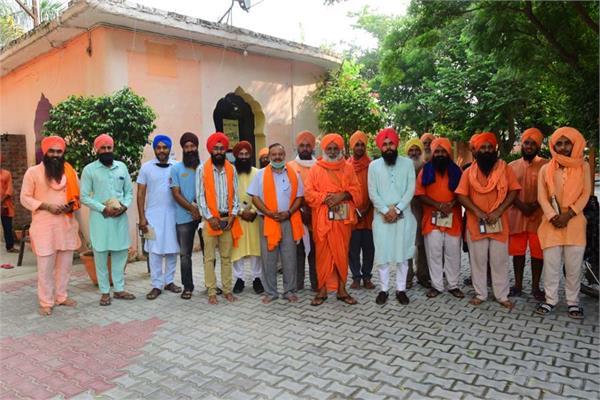 sant balbir singh seechewal meeting