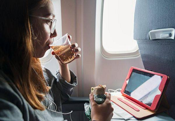 good news for air travelers all the airlines have changed the menu
