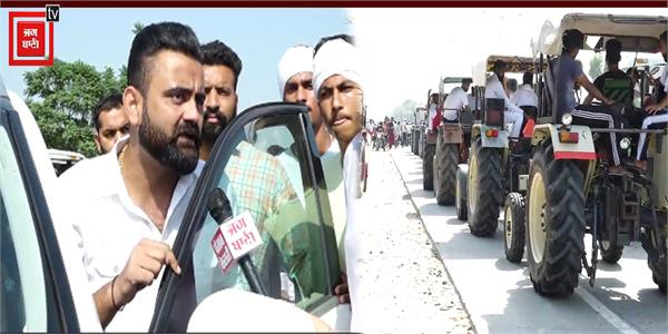 pollywood stars amrit maan farmers protest