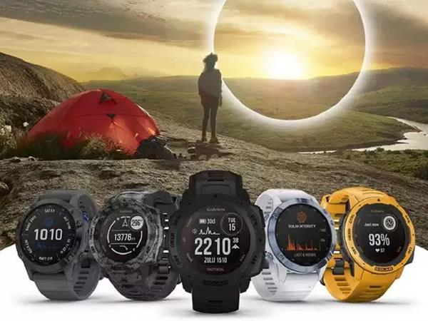 garmin all new solar powered smartwatches