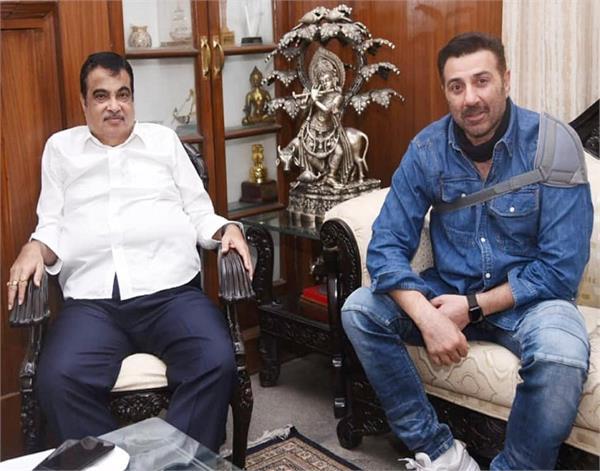 gurdaspur sunny deol minister nitin gadkari meeting