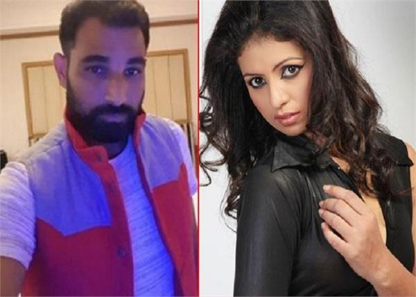 cricketer mohammad shami  wife  hasin jahan  instagram  comment