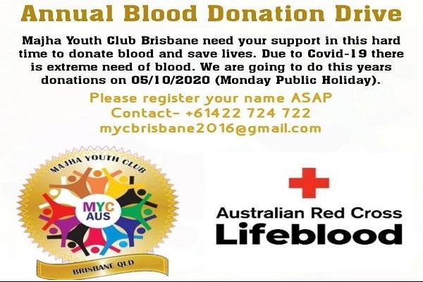 australia  blood donation camp