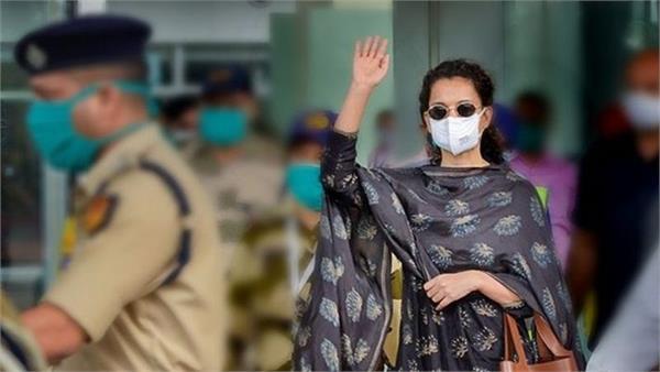 kangana ranaut leaves mumbai with a heavy heart