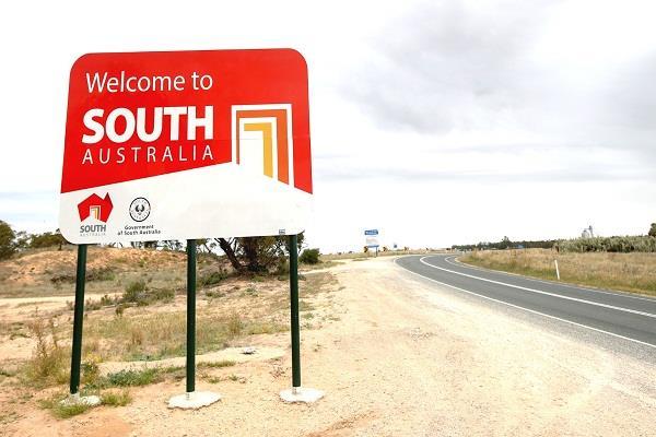 south australia  border