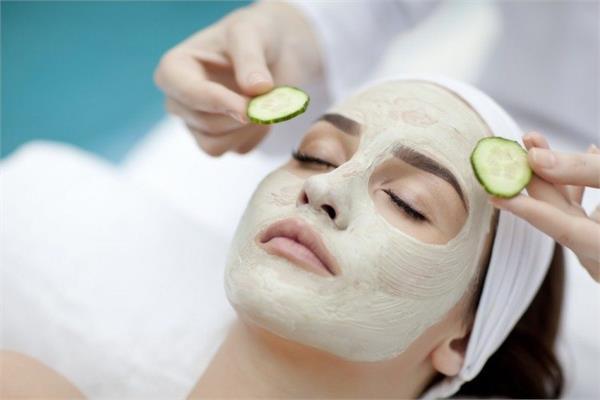 skin  glow  cucumber  face pack