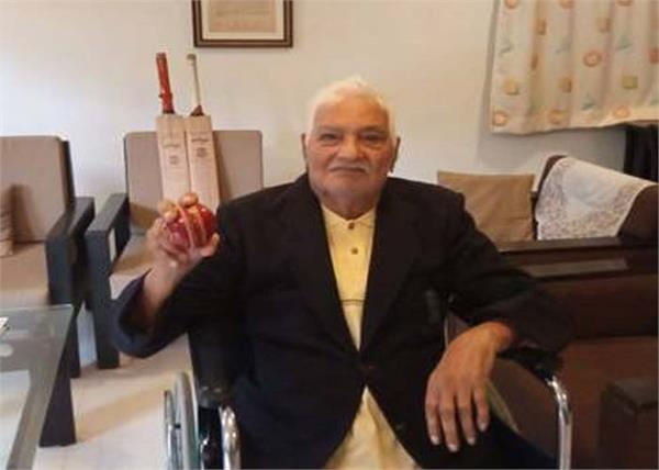 former indian cricketer sadashiv raoji patil dies
