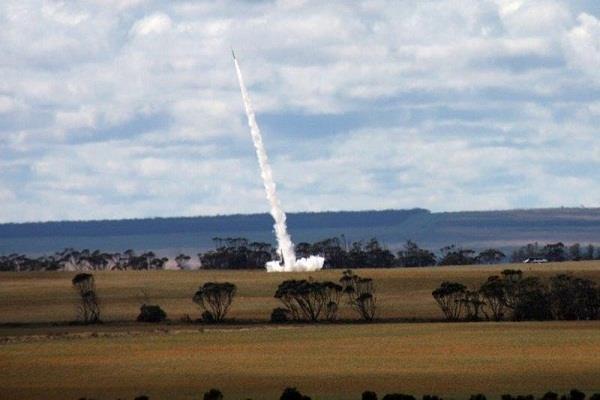 australia  commercial rocket
