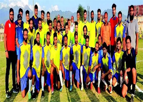 kashmir exhibition match held in eidgah