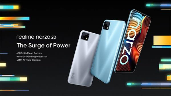 realme narzo 20 narzo 20a narzo 20 pro launched in india