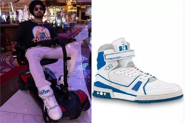 diljit dosanjh  s sneaker boots are insanely expensive
