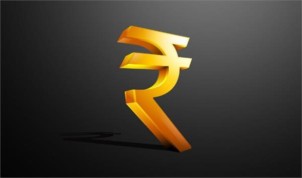 indian currency rises