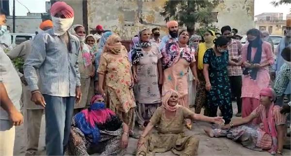 rupnagar police custody man death family commotion