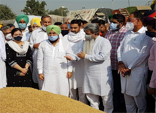 bharat bhushan ashu  paddy  procurement