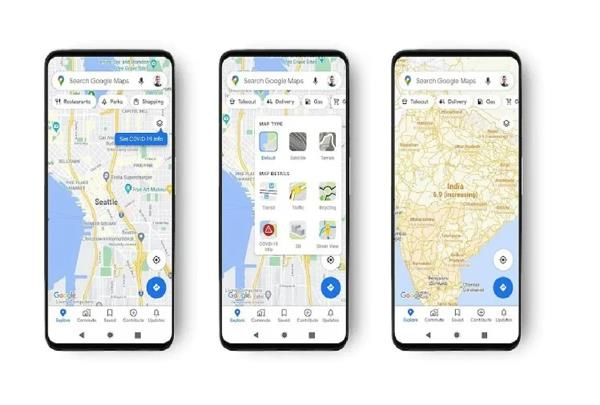 google maps gets new layer to show covid 19 hotspots