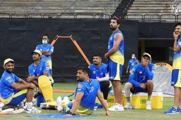 all the tests of chennai super kings are negative