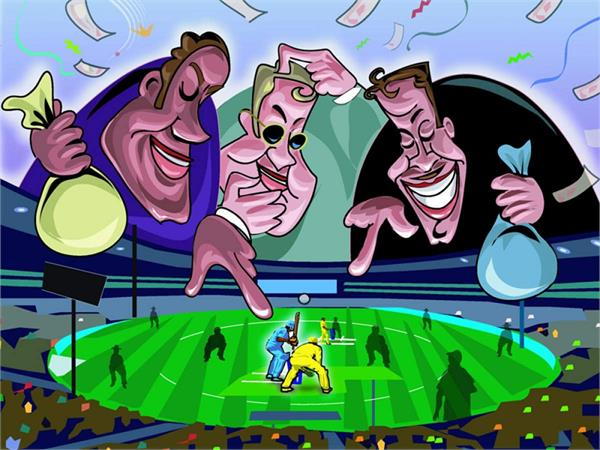 millions rupees on ipl matches through mobile apps