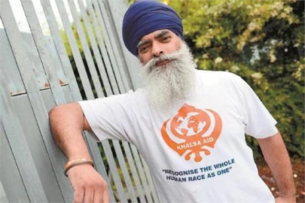 khalsa aid founder ravi singh corona postive