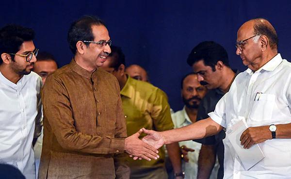 meeting between cm uddhav and pawar ends
