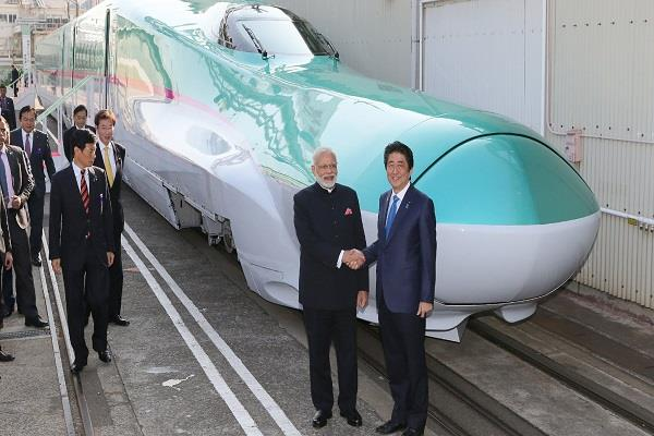 bullet train project provide employment 90000 people