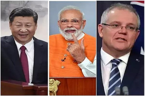 aus defense minister says will increase cooperation with india deal with china
