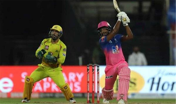 ipl  rajasthan chennai match equaled the most sixes